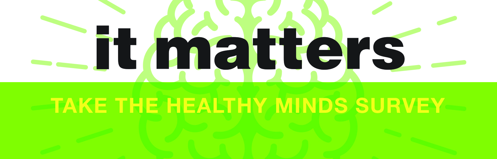 cover image for the Healthy Minds survey