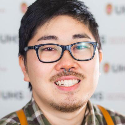 Portrait of Jared Teraoka