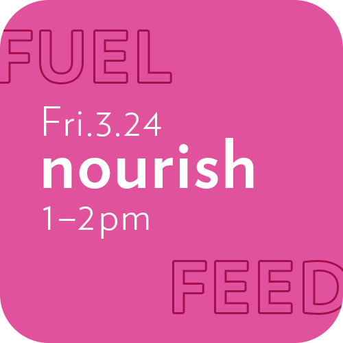 Image link to Friday nourish