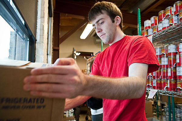UW-Madison students are able to volunteer for countless efforts across campus (Bryce Richter/UW-Madison).