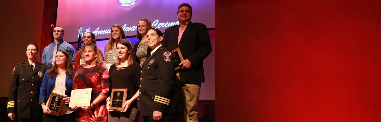 UHS honored at UWPD awards ceremony